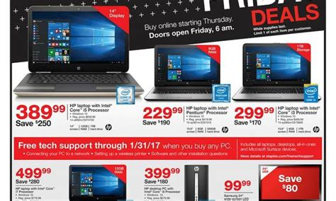 black friday table deals 2017 staples reveals 2017 black friday deals on laptops