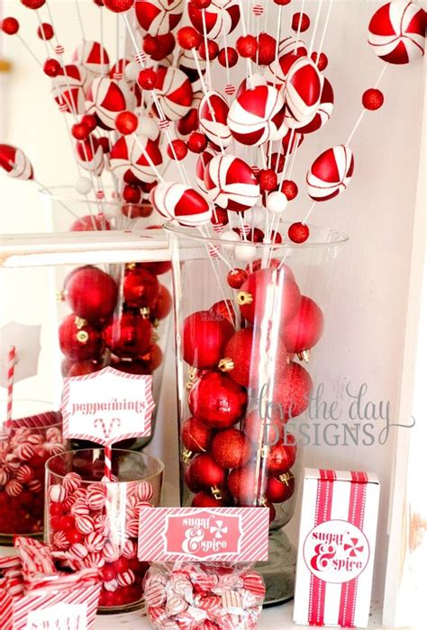 red  white swirls create  great color scheme