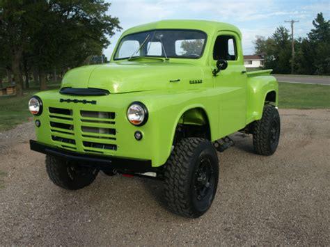 1949 Dodge Pickup Custom 4x4 Truck Hot Rod 4wd