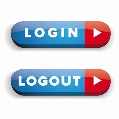 Logout Login Button Vector Flat Buttons Icon