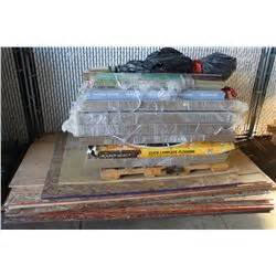 Pallet Of Laminate Flooring Sold W Stack Of