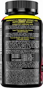 Hydroxycut Hardcore Elite Weight Loss Supplement  Designed For Hardcore Weight Loss  Energy