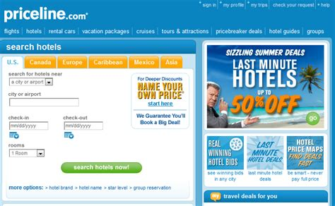 priceline for hotels do hotel sites get ppc