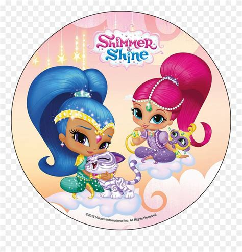 library  shimmer  shine clip art black  white
