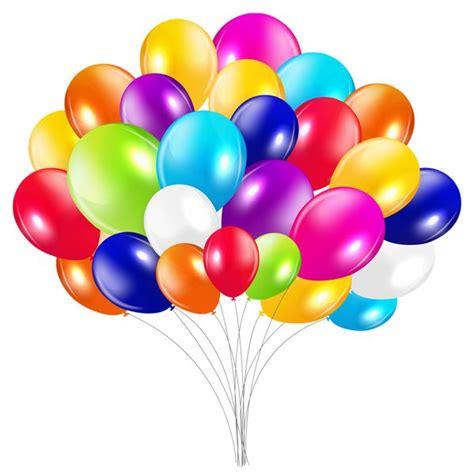 bunch  balloons png clipart image clip art balloons