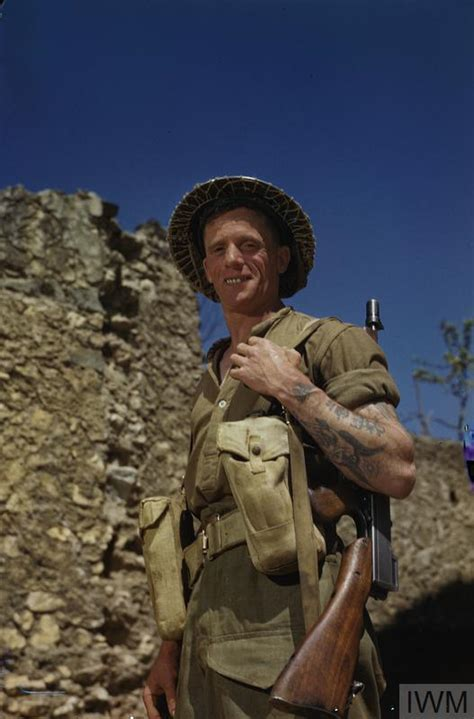 british army  italy april  tr