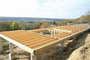maison sur pilotis beton images With maison terrain en pente 10 photo maison en bois rouge sur pilotis en tha239lande