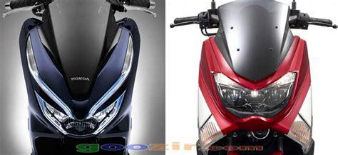 Nmax 2018 X Pcx 150 by Honda Pcx 150 Vs Yamaha Nmax 2018 Informasi Otomotif