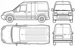 2005 ford transit connect van blueprints free outlines With custom ford transit vans