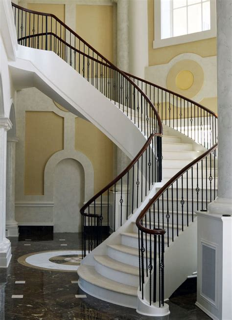 Curved Stairs | Curved Staircase | Artistic Stairs