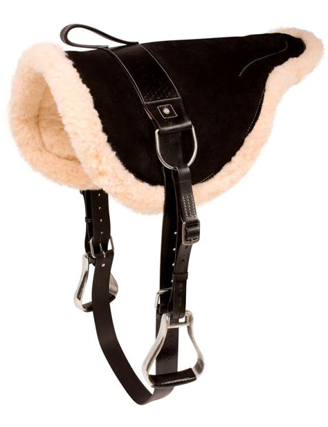 new western leather saddle pad with