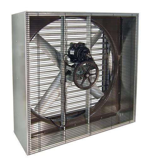 48 inch exhaust fan vik cabinet exhaust fan w shutters 48 inch 18900 cfm belt