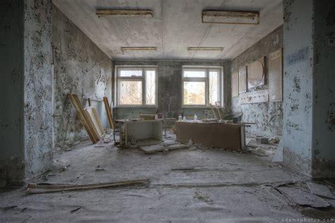 Inside chernobyl's hospital basement (scariest room in chernobyl). Chernobyl: Pripyat #3 - Hospital No.126 - April 2015 - Adam X