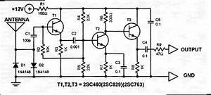 Car Antenna Amplifier Diagram