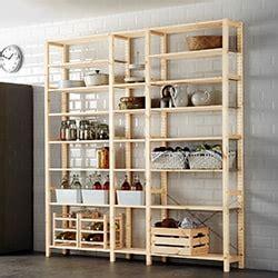 etagere rangement ikea rangement meubles de rangement modulable ou fixe ikea