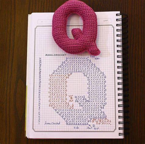 patrones de letras alfabeto  crochet moldes letras