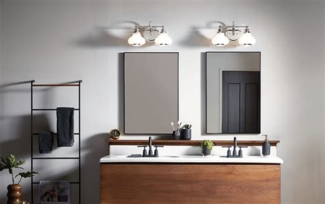 choose bathroom vanity lighting riverbend home