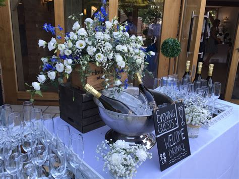 Pin by Bassmead Manor Barns on Reception Drinks