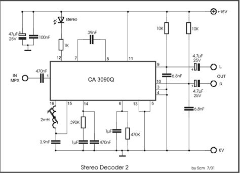 Stereo Decoder Circuit Diagram World