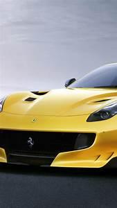 Wallpaper Ferrari F12 TDF, yellow, sport car, Cars & Bikes