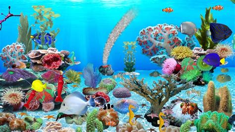 Animated Aquarium Desktop Wallpaper Windows 7 - animated aquarium wallpaper for windows 7 free