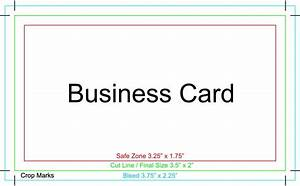 Business card template bleed business template for Photoshop business card template with bleed