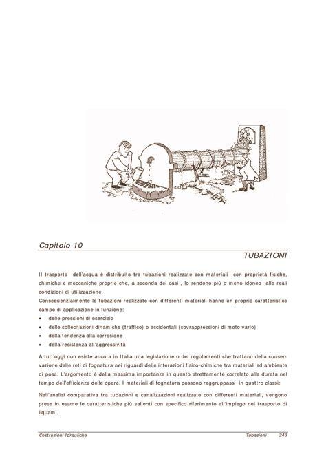 idrologia dispense tubazioni tubi e posa in opera dispense