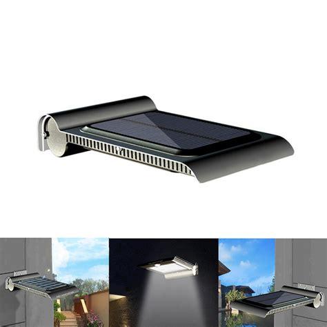 2w 40 led solar powered waterproof ip65 pir motion sensor