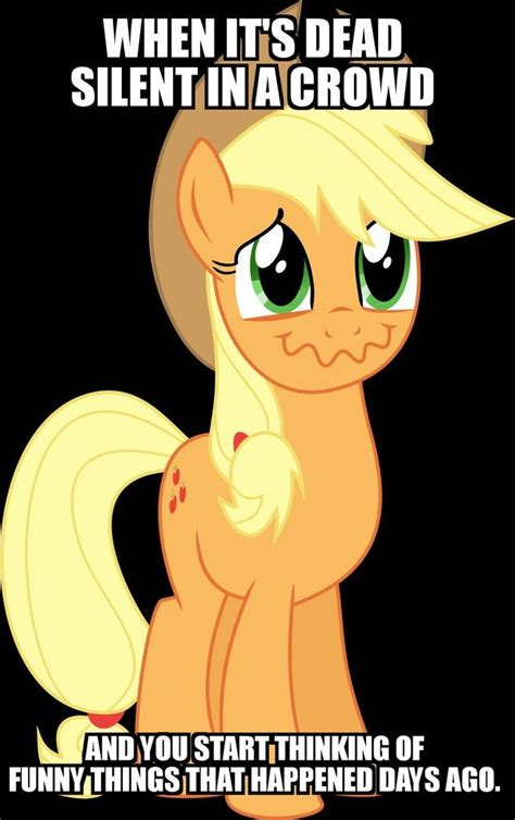 My Pony Meme 1258323 Applejack Meme Obligatory Pony Safe
