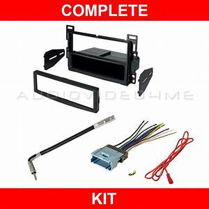 2006 Chevy Malibu Maxx Radio Dash Mount Kit For Car Stereo