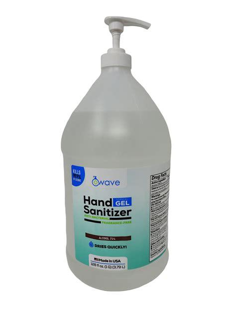 WAVE HAND SANITIZER GEL 75% Ethyl Alcohol With Pump | WASHIQ