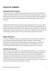 Business Term Sheet Template Sle Business Plan