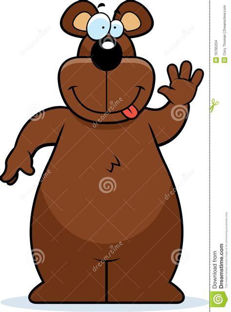 bear waving stock images image