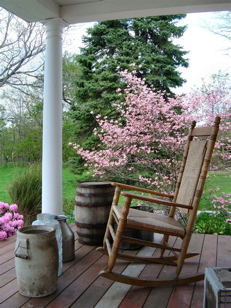 country porch with a view