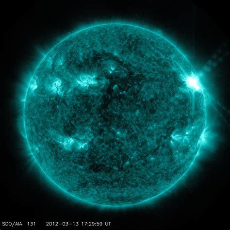 Sunspots and Solar Flares   NASA