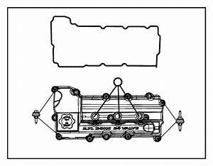 Chrysler Sebring Engine Valve Cover  2 7 Liter  Charger