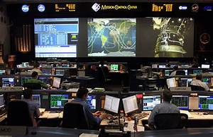 NASA Johnson Space Center Space Shuttle Mission Control Ce ...