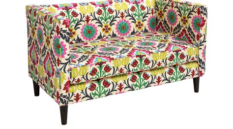 Floral Settee by 1 098 00 Vallie Green Floral Settee Contemporary Cotton