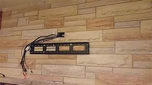 Wall Mount A Tv Over Fireplace With No Visible Wires
