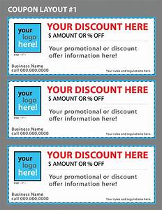custom coupon templates for your business on behance With create a coupon template free