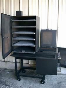 Upright Barrel Smoker : oil drum bbq55 gallon horizontal smoker 55 offset ~ Sanjose-hotels-ca.com Haus und Dekorationen