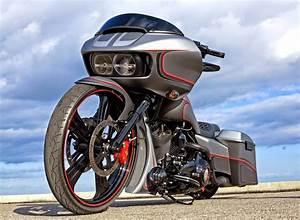Racing Caf U00e8  Harley Road Glide  U0026quot Edition 1 U0026quot  By Rick U0026 39 S
