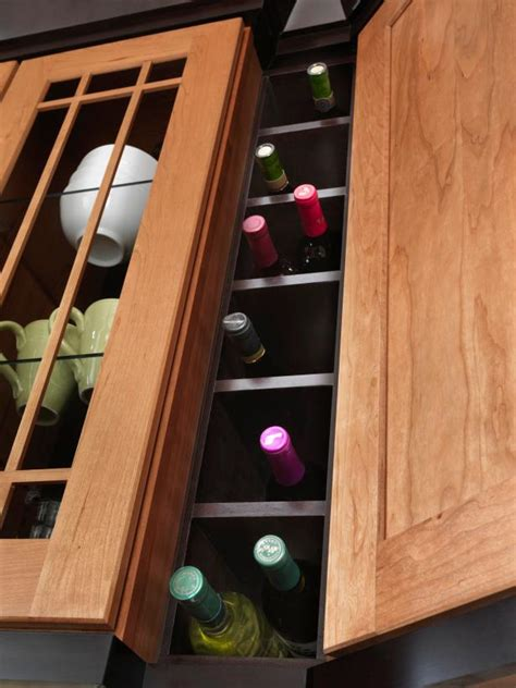 wine storage in kitchen kitchen storage styles and trends hgtv 1552