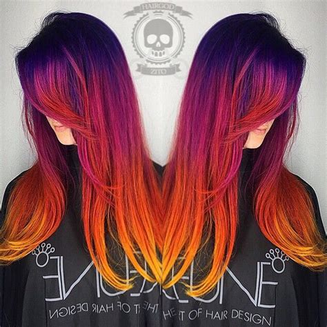 Sunset Hair Is The Most Beautiful Ombre Hair Tint Weve