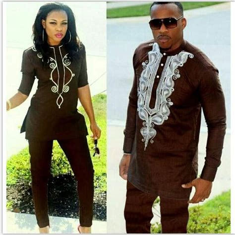 Handd 2019 African Couple Dress African Suits For Women And