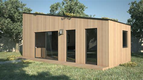 mezzanine avec canapé construction de module en bois yvelines