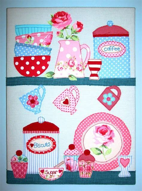 kitchen applique designs 21 best images about quilt cups teapots on 2187