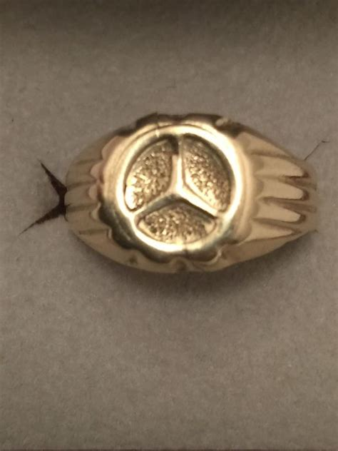 mercedes ring gold mercedes ring catawiki