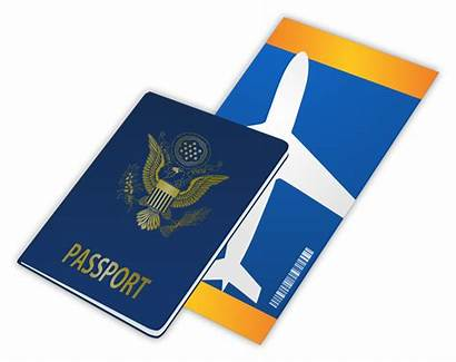 Ticket Clipart Tickets Airplane Transparent Airline Passport