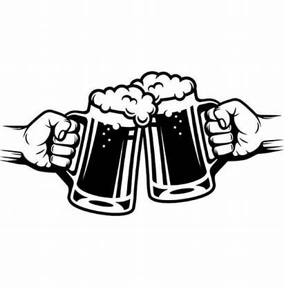 Beer Cheers Glass Clipart Bar Mug Pub